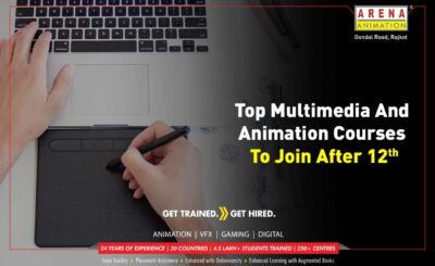 Top Multimedia and Animation Courses to Join after 12th